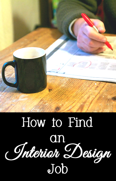 How to Find a Job as an Interior Designer