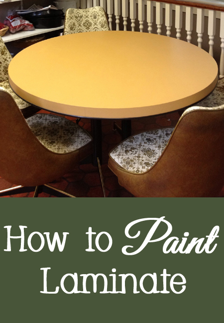 Tips for Painting Laminate or Formica