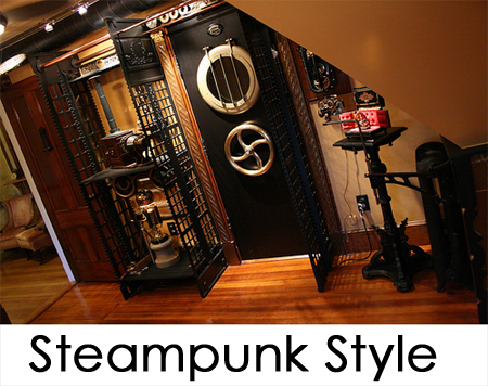 How to decorate your home in a steampunk style