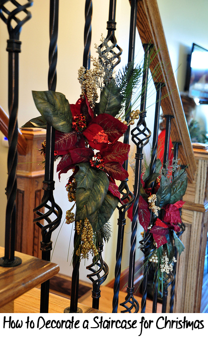 Tips & Tricks for How to Decorate a Staircase for Christmas
